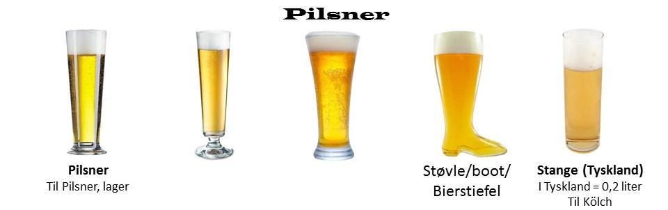 specielle ølglas